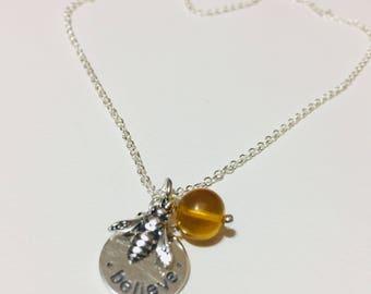 Believe Honey Amber Bee