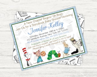 Storybook Baby Shower Digital Invitation