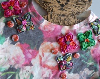 Sweat... customized floral origami...