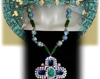 Baroque necklace - Mexican FESTIVAL