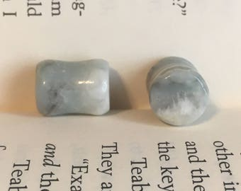 10mm 00g Amazonite Plugs