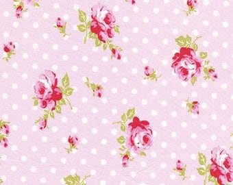 Delilah buds in pink-by Tanya Whelan-ONE yard