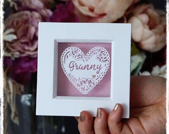 Grandmother Heart - Gift for Mothers Day