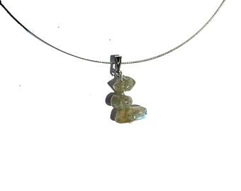 Labradorite jewelry, healing stone necklace, natural stone pendant natural jewelry nature inspired necklace genuine labradorite pendant ahin