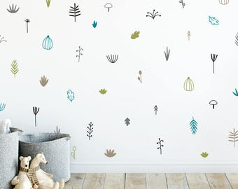 Woodland Wall Decals   Nursery Decals, 5 Color Wall Stickers, Vinyl Wall  Decals Part 76