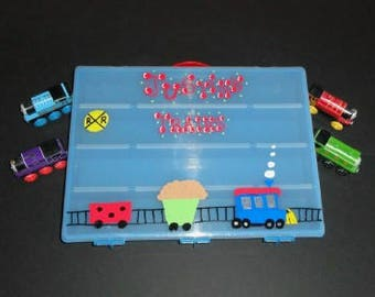 Car/Train/Shopkins Storage Case with Handle
