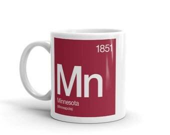 Minnesota Periodic Table Mug