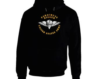 Army - Parachute Rigger Metal - Hoodie