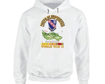 Army - 147th Infantry Regimen - Wwii - Guadalcanal Hoodie