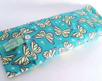 Soothing Lavender Eye Pillows - Butterfly Pattern