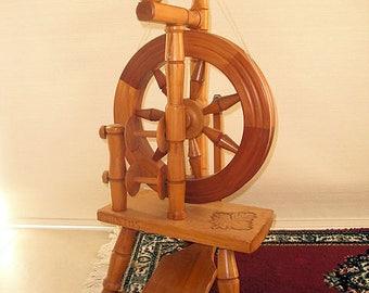 "Never Used  ""JUSTUS"" Spinning Wheel  -  AMAZING!"