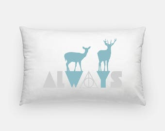 Harry Potter Pillow | Harry Potter Gifts | Harry Potter Decor | Harry Potter Always | Harry Potter Bedding | Harry Potter Doe Always