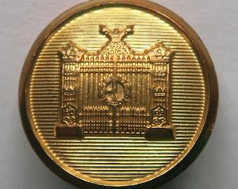 Set of Brooks Buckingham Palace Gate Designer Logo Blazer Buttons