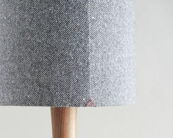 The Hill-side Wool Blend Slub Tweed Fabric Lamp Shade
