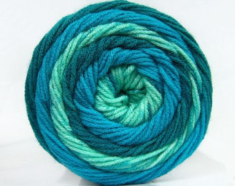 Maxi yarn has color scalable