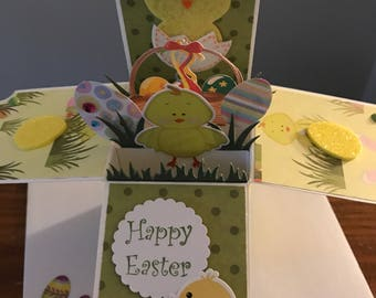 Easter Explosion Card