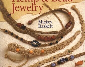 Making Beautiful Hemp & Bead Jewelry - eBook - Instant download - PDF file - jewelry patterns