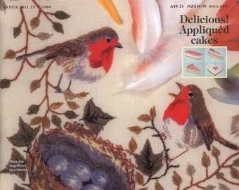 Inspirations No. 25 2000 - PDF ebook - Embroidery ebook - instant download Digital book/magazine - PDF file