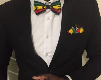 Bow tie for men Jamaican