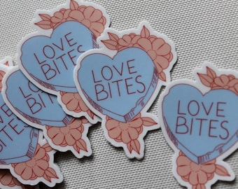 Love Bites Stickers