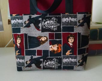 Childrens Harry Potter Tote Bag Library Bag Ladies Tote Preschool Bag