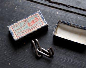 Jeu ancien Les crochets inséparables JLR - Casse-tête rare