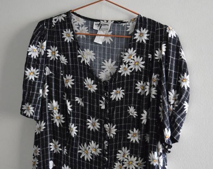 90's Daisy Babydoll Dress