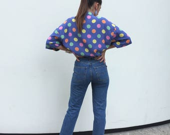 "Casucci Anni 90 Jeans vita / NUOVI Casucci mom fit  / Vita alta ""Mom Fit""  Casucci / Jeans Made in Italy /Casucci jeans taglia 30"
