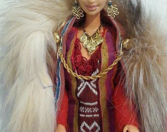 OOAK Barbie: Yarl Lagertha