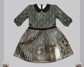 Haunted Mansion series by Violet Fane · PREORDER· Gothic Horror Lolita Jersey Dress