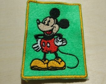 Walt Disney Company Mickey Mouse patch applique