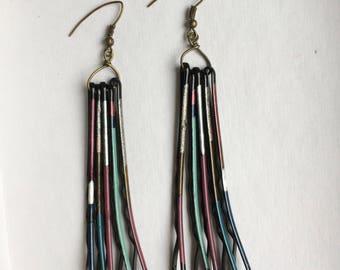 Long Pin Earrings