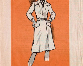 "Yoke Dress V-neck Dress Long Sleeve Dress MAIL ORDER 4699 UNCUT bust 42"" Sleeveless Dress Short Sleeve Dress Belted Dress Pocket Dress"