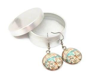 New york 20mm earring travel