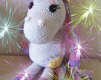 Crochet Pattern 'Star the Unicorn'