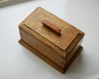 Preloved oak Box