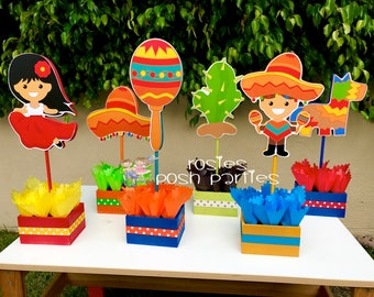 Mexican party decor etsy for 5 de mayo party decoration