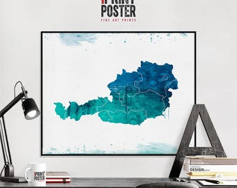 Portugal Poster Portugal Map Print Portugal Flag Poster - Portugal map to print