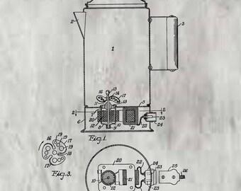 Liquid Mixer Patent # 2086858 dated July 13, 1937.