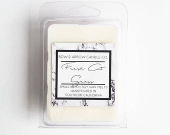 Fresh Cut Grass Soy Wax Melts | Grass Scented | Masculine Wax Melts | Soy Wax Melts | Wax Tarts | Gift Idea | Scented Wax Melts | Cut Grass