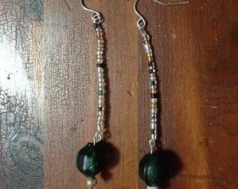 Long Boho Dangle Earrings