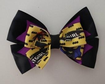 Batgirl Hair Bow