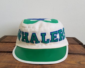 Extremely Rare Vintage Hartford Whalers Painters Hat