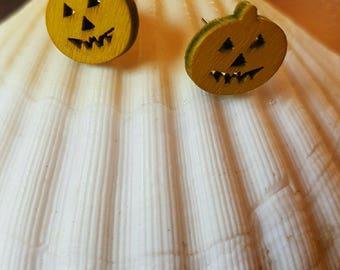 Pumpkin Stud Earrings to choose
