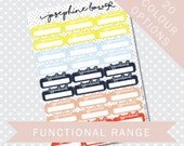 APPOINTMENT REMINDER BOXES - Functional Stickers - Planner Stickers Matt