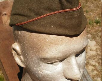 World War Two US Army Side Hat