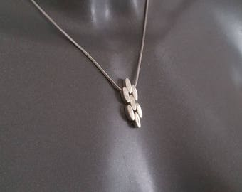 925 Silver snake chain necklace + pendant SK405