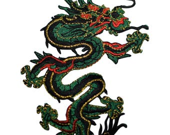 Dragon Applique Patch (Iron on)