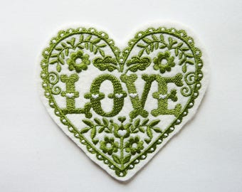 Patch Thermo heart and love