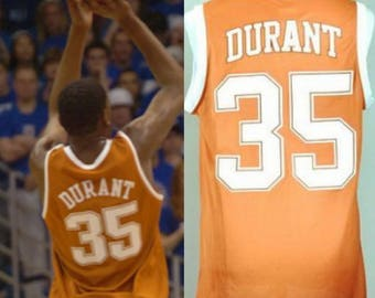 Kevin Durant College Texas Longhorns Jersey OKC Golden State Warriors KD